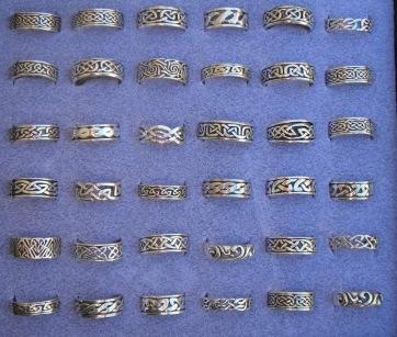men's celtic rings