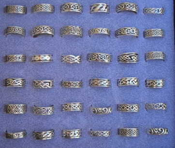 men's celtic rings